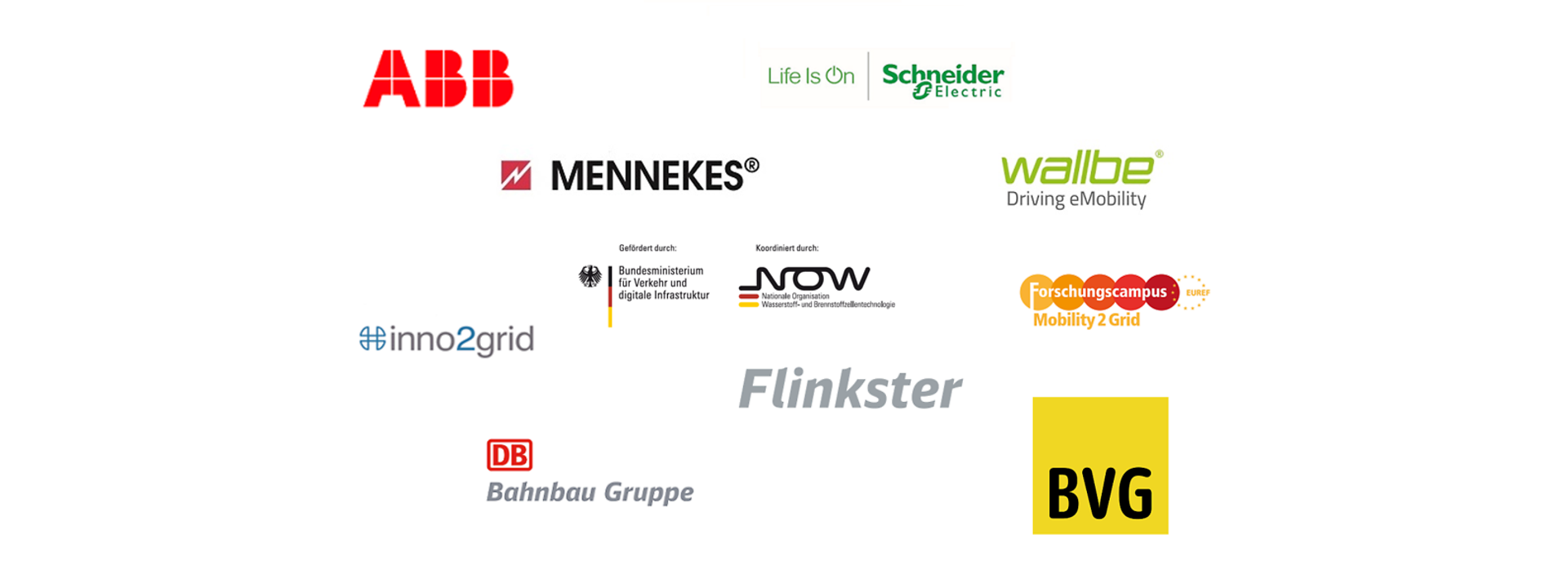 Logos Kooperationspartner DB Energie